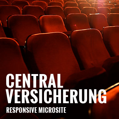 Central Website (Werbeagentur Köln, BRANDIT)